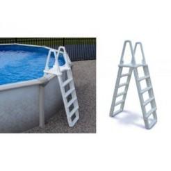 Interline Zwembadtrap voor Opbouw/Inbouw Zwembaden 120-132cm