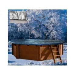 Interline Winterafdekking voor Houten Zwembad 6-Hoek 355cm