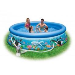 Intex 28136GS Ocean Reef Easy Set Pool Zwembad 366x76cm