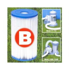 Intex 29005 Filter Cartridge Type B Filter voor Zwembad