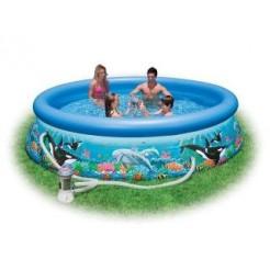 Intex 28126GS Ocean Reef Easy Set Pool Zwembad 305x76cm