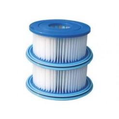 Speedy Pool 0775143 Filter voor Ingebouwde Pomp 2272/2100/2000L 2stuks